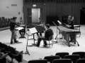 Rehearsing for the UK premiere of Beat Furrer's 'Aria' with The Chimera Ensemble (May 2014) - 1