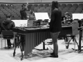 Rehearsing for the UK premiere of Beat Furrer's 'Aria' with The Chimera Ensemble (May 2014) - 2