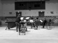 Rehearsing for the UK premiere of Beat Furrer's 'Aria' with The Chimera Ensemble (May 2014) - 3