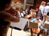 'Moors' - over the shoulder of Solo Violin 2
