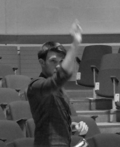 Rehearsing Beat Furrer's 'Aria' with Chimera, 2014