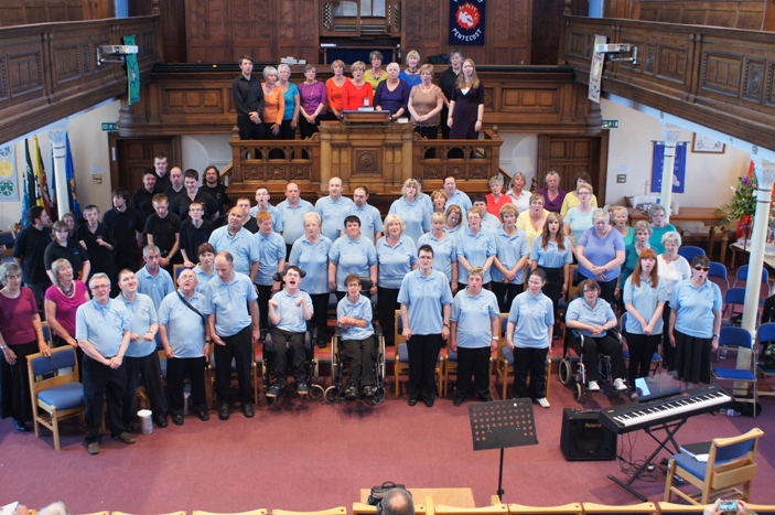 Castaway Goole Choir and Band, WI choir