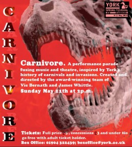 CARNIVORE - RED REX poster